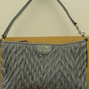 COACH SMALL QUILTED MADISON POUCH BAG